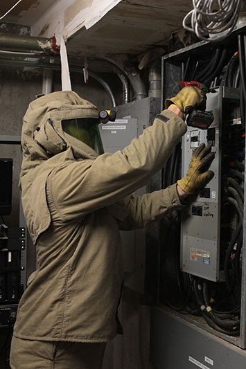 arc flash risk assessment step two