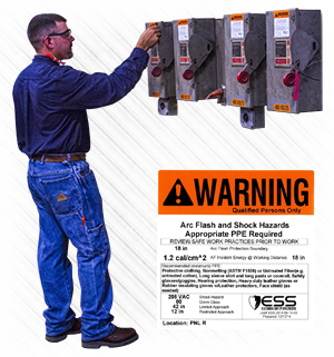 arc flash risk assessment step three