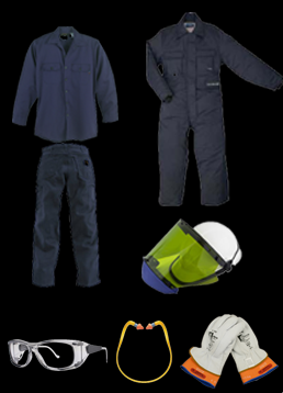 electrical ppe requirements clothes