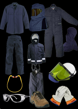 PPE requirements clothing examples