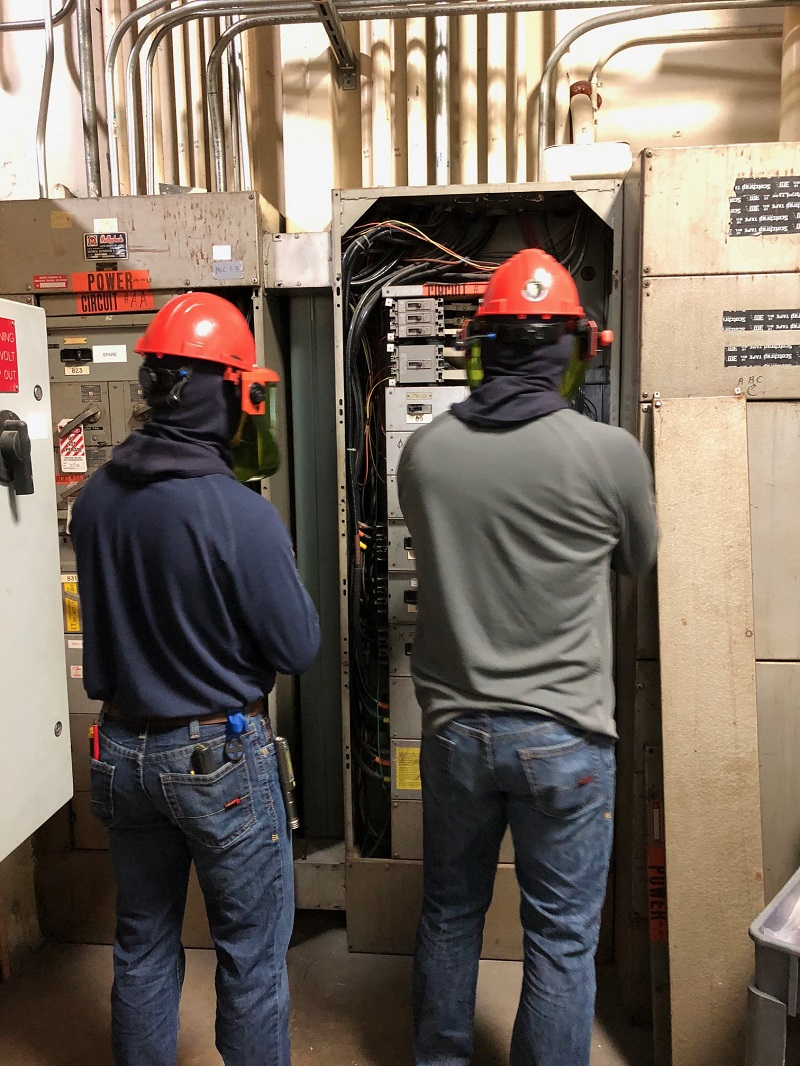 Arc Flash Dangerous Instantaneous Electrical Event ESS