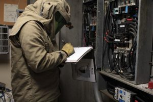 An arc flash study (also known as an arc flash risk assessment) is required by OSHA and the NFPA 70E to determine the risk level for all areas in which your employees perform work.