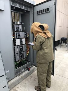 "The terms ""arc flash study"" and ""arc flash risk assessment"" both refer to the same evaluation and are used interchangeably."