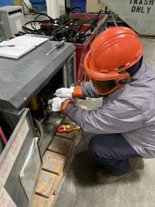 Qualified Electrical Worker training is required by the Occupational Safety and Health Administration (OSHA) and NFPA70E for anyone working on or near energized equipment greater than 50 volts.