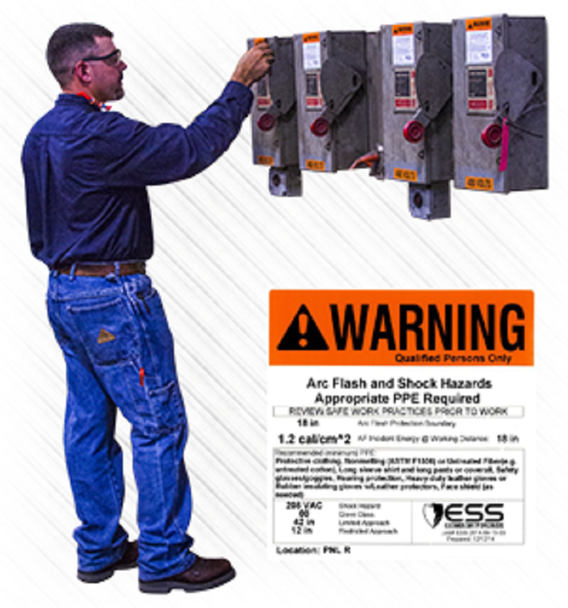 An arc flash risk assessment is required by OSHA and the NFPA 70E to determine the risk level for all areas in which your employees perform work.