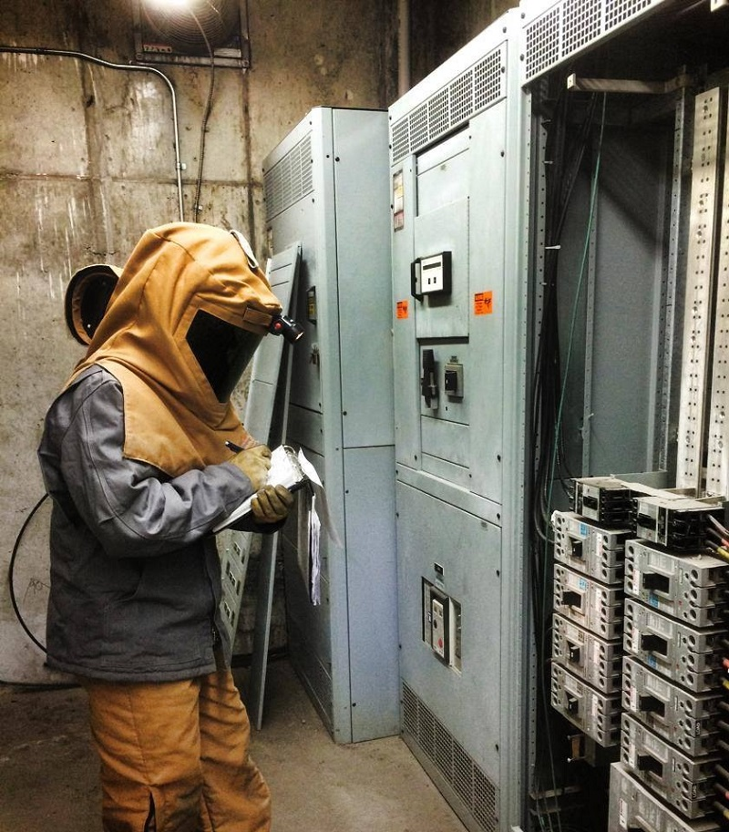 Electrical PPE is the last line of defense against arc flash hazard injuries!