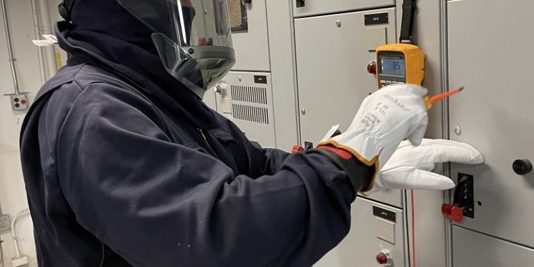 An ESS field technician will collect the necessary information to complete the arc flash risk assessment.