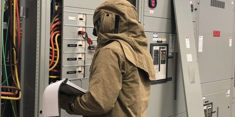 An arc flash study, also known as an arc flash risk assessment, is conducted to determine the risk levels for all areas in which employees may perform energized work.