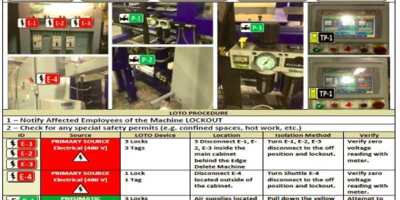 Lockout Tagout procedures Electrical Safety Specialists